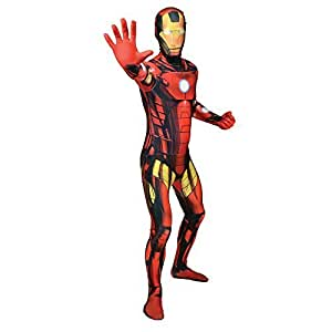 Morphsuits Iron Man Adult Fancy Dress Costume (Medium) by Morphsuits [並行輸入品]