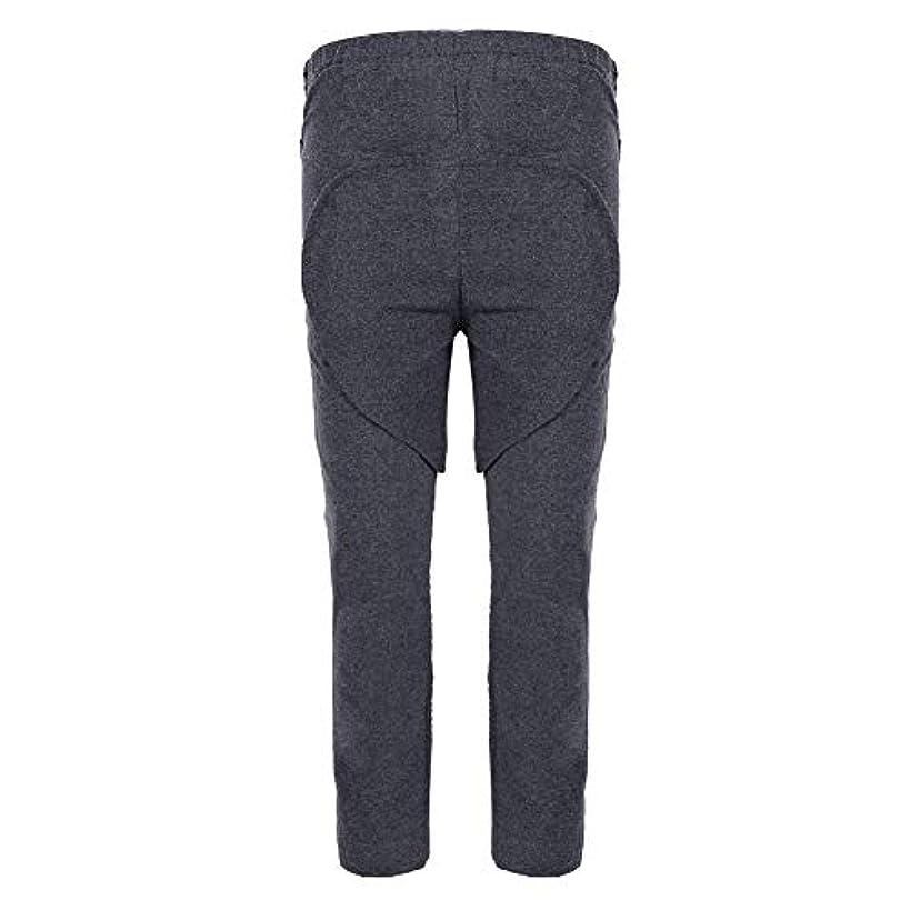 放射能案件祖父母を訪問失禁用ズボン、取り外し可能な股付きカテーテルズボンは、思いやりのある失禁者や高齢者の効率を高め、恥ずかしいシーンを防ぐことができます(XL)