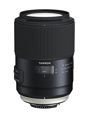 TAMRON 単焦点マクロレンズ SP90mm F2.8 Di MACRO 1:1 VC USD ニコン用 F017N
