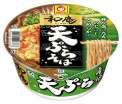 東洋水産 マルちゃん 和庵(なごみあん) 天ぷらそば 1箱12食