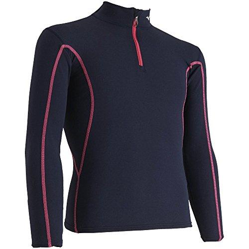 [해외]MIZUNO (미즈노) 스키웨어 주니어 호흡 사모 에브리 플러스 하프 Zip 셔츠 Z2MA7920/MIZUNO (Mizuno) Ski Wear Junior Breath Thermo Ebris Plus Half Zip Shirt Z2MA7920