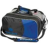 Brunswick Crown Doubleトートバッグボーリングバッグ – 多くの色利用可能