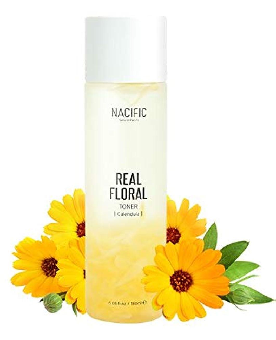 マーケティング怠けたひばり[Nacific] Real Floral Toner(Calendula) 180ml /[ナシフィック] リアル フローラル トナー(カレンデュラ) 180ml [並行輸入品]