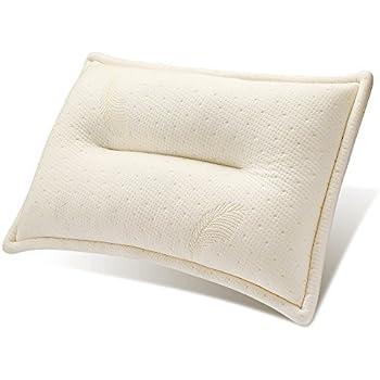 Mkicesky 至福の枕 枕 人気 安眠枕 マッサージ枕 低反発チップ枕 快眠枕 うつぶせ 頚椎 首 頭 肩をやさしく支える健康枕 横向き寝 日本人に適したジャストサイズ 通気性抜群 ピロー 【メーカー直営・1年保証付】