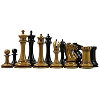 Staunton Castle B & C Company Reproduction Premium Chess Set 4.4