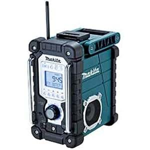 マキタ 充電式ラジオ 本体のみ 青 MR103