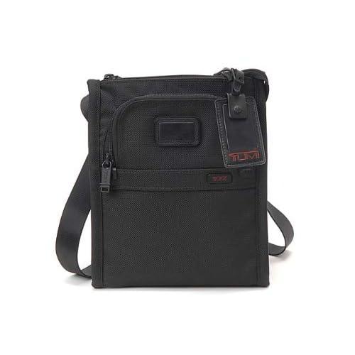 (トゥミ)TUMI 022110DH Alpha Ballistic Travel Pocket Bag Small/ポケットバッグ スモール Black/ブラック [並行輸入品]