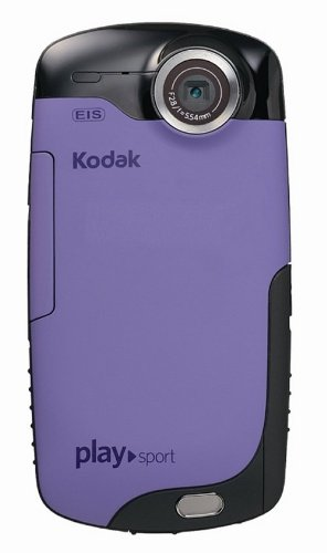 Kodak 防水・アウトドアビデオカメラ PLAYSPORT ビデオカメラ パープル PLAYSPORT パープル