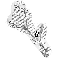 ヴィンテージブリーフスタイルゴールド/シルバーブランチ鈍いポリッシュヘアピンヘアジュエリーウェディングブライダルヘアアクセサリー用女性、シルバーB