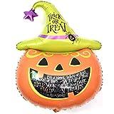 ハロウィンアルミ バルーンビッグパンプキンヘッド1パック 大南瓜? パーティー小物 飾り 屋外 誕生日 パーティ 文化祭やハロウィン 装飾 風船