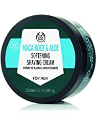 The Body Shop Men's Maca Root and Aloe Soothing Shaving Cream 6.3 Ounce [並行輸入品]