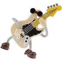 Baoblaze ギター オルゴール プラスチック 工芸品 ミュージカルボックス