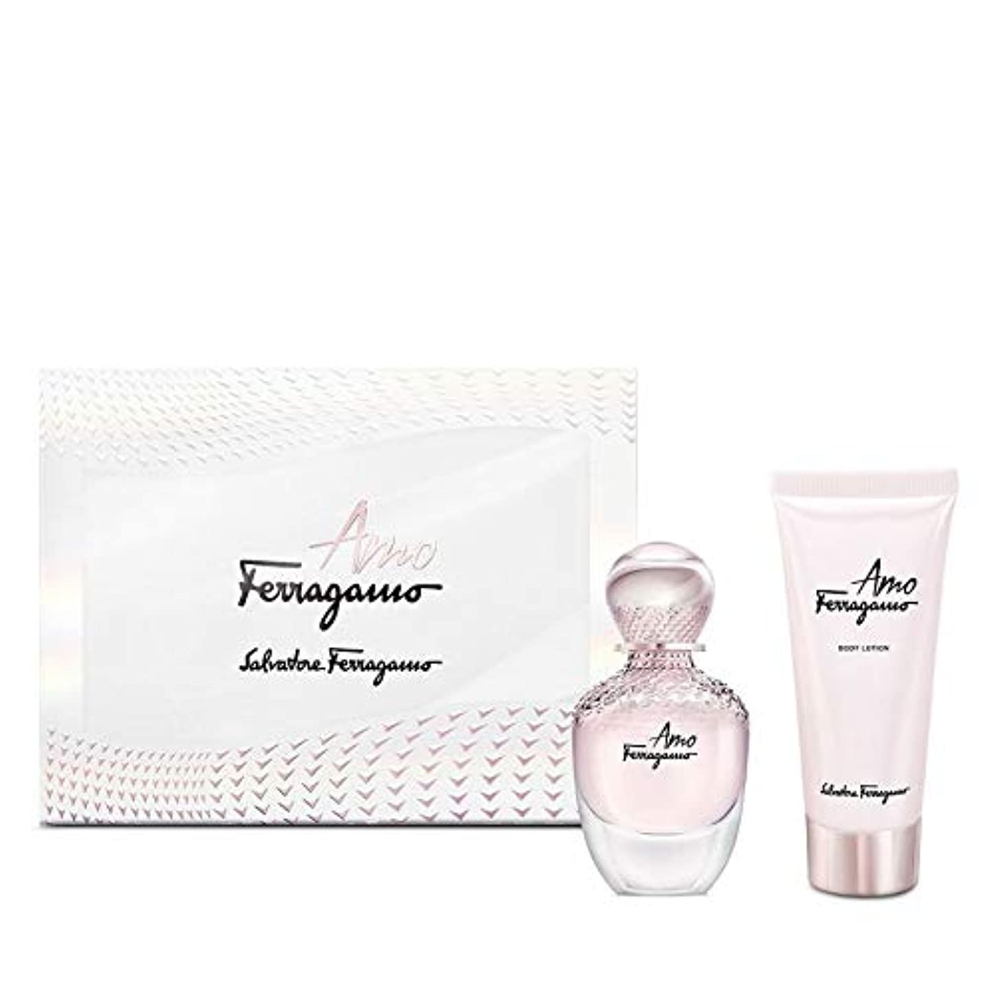 エントリ実証する議論するサルバドール フェラガモ アモ フェラガモ 香水セット 2 PCS