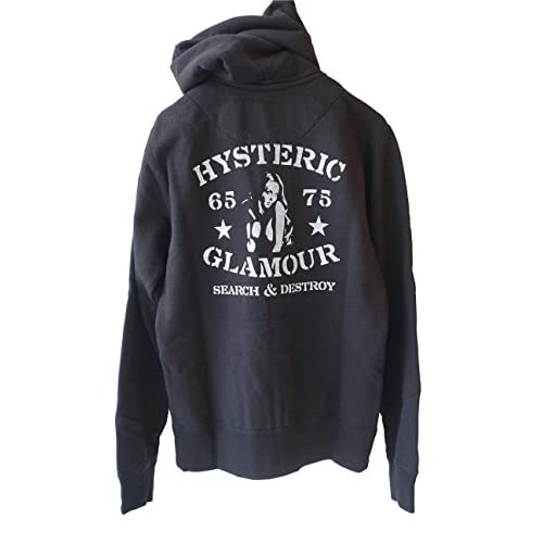 (ヒステリックグラマー)HYSTERIC GLAMOUR ROCK PRESS pt PK (L, BLACK)