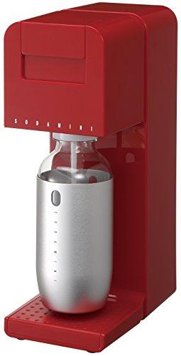 SODA MINI(ソーダミニ) 炭酸メーカー レッド SM1002