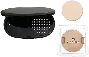 セフィーヌ CEFINE シルクウェットパウダー + ケース(スポンジ付) OC110