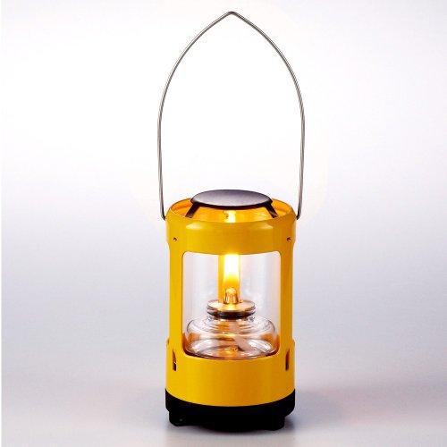 『オイルランプ』ランタン型ミニオイルランプS・カラー・イエロー(TR-500YE)