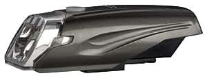 ジェントス バイクライト AX 002MG 【明るさ200ルーメン/実用点灯6時間】 ガンメタル AX-002MG