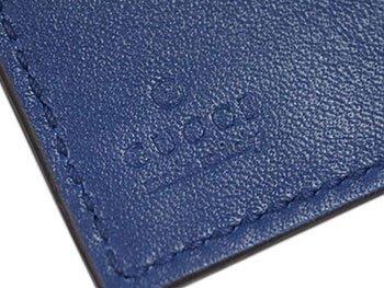 ae32bfa35b52 ... 【アウトレット品】(グッチ)グッチ 財布 メンズ GUCCI 二つ折り 札入れ Gボタン ...