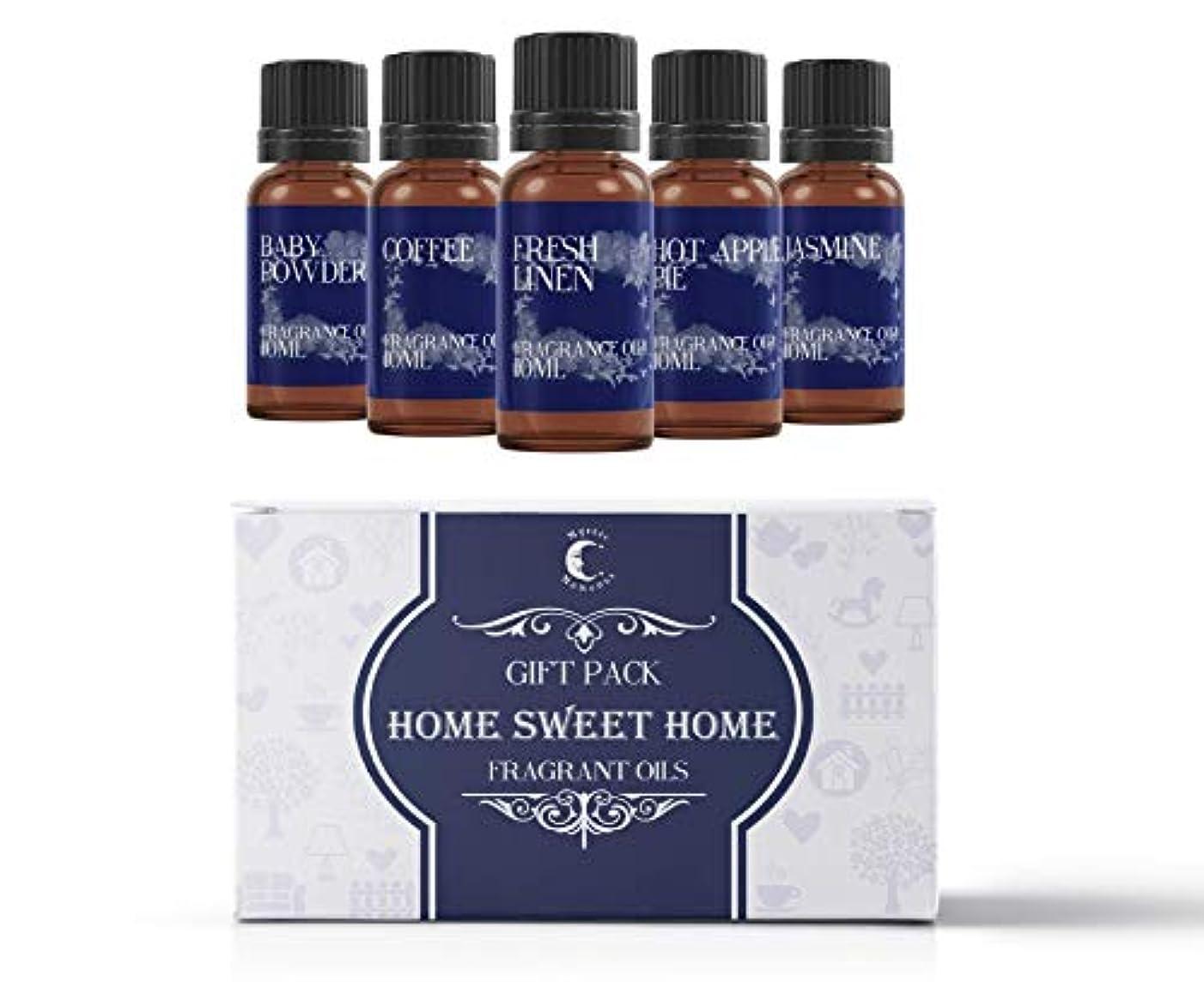 交差点定常モックMystic Moments   Fragrant Oil Starter Pack - Home Sweet Home - 5 x 10ml
