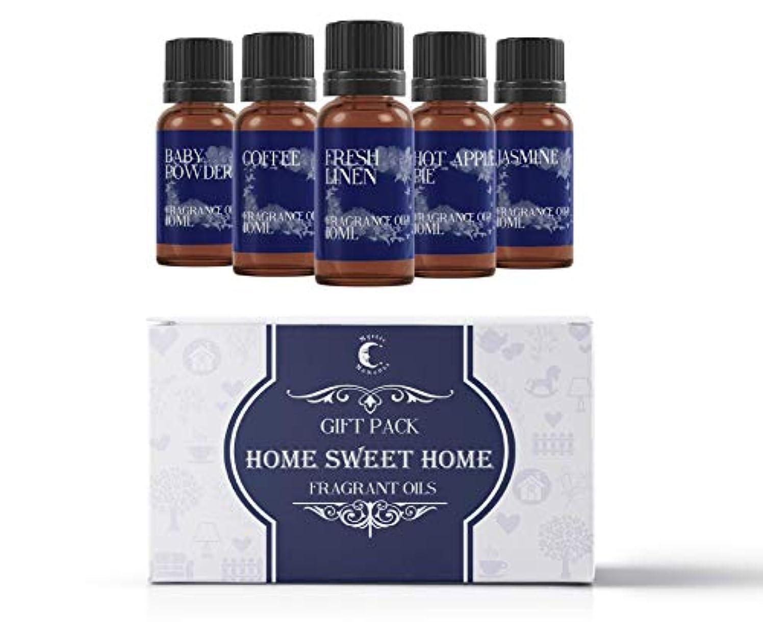 セラフペット登録Mystic Moments | Fragrant Oil Starter Pack - Home Sweet Home - 5 x 10ml