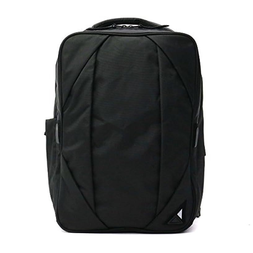 可愛い半円電化する[ヌンク]nunc リュック Rectangle Backpack NN002010 ブラック