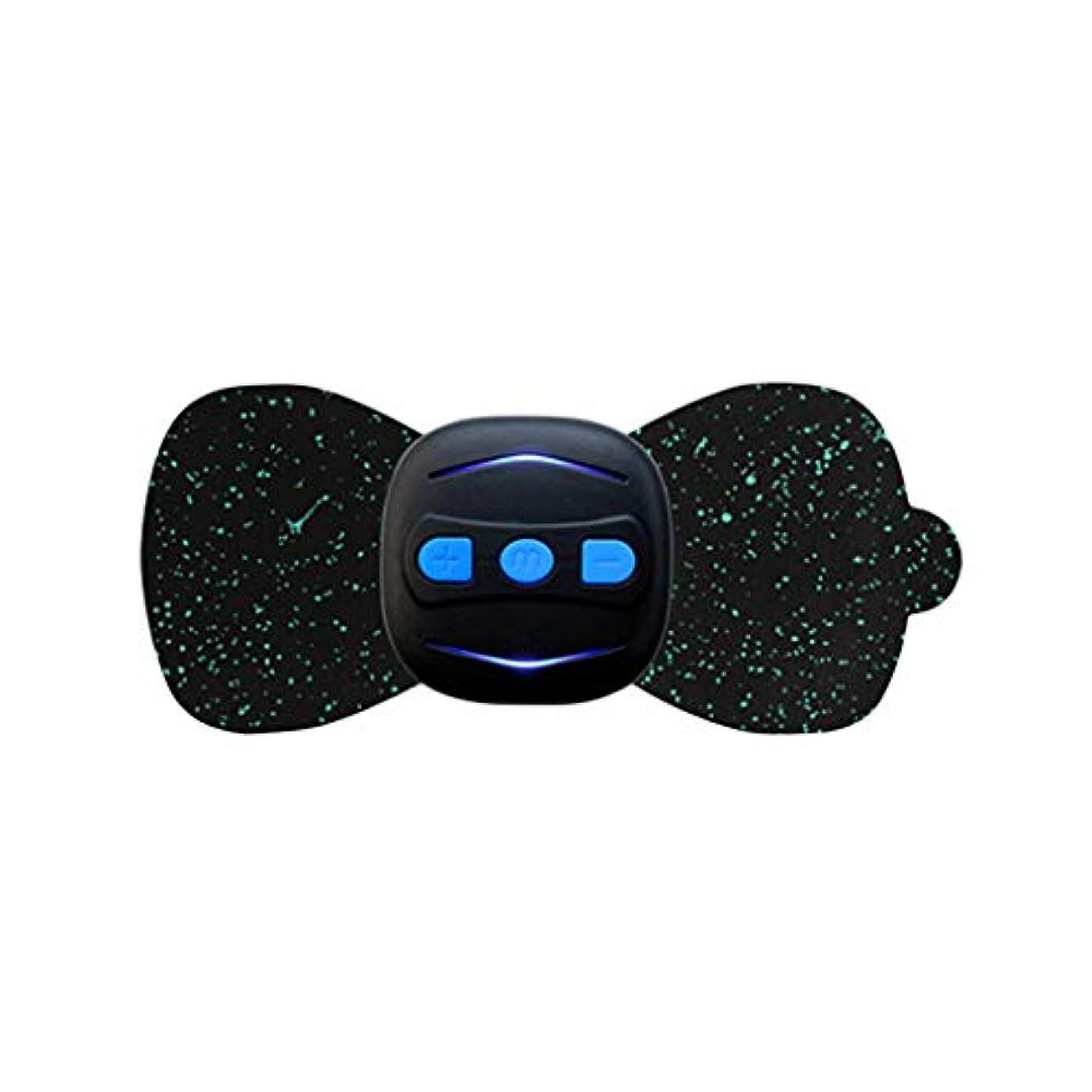 和解するシリーズタイルjiuloneclerst 携帯用小型電気首のマッサージャーの頚部マッサージの刺激物の苦痛救助