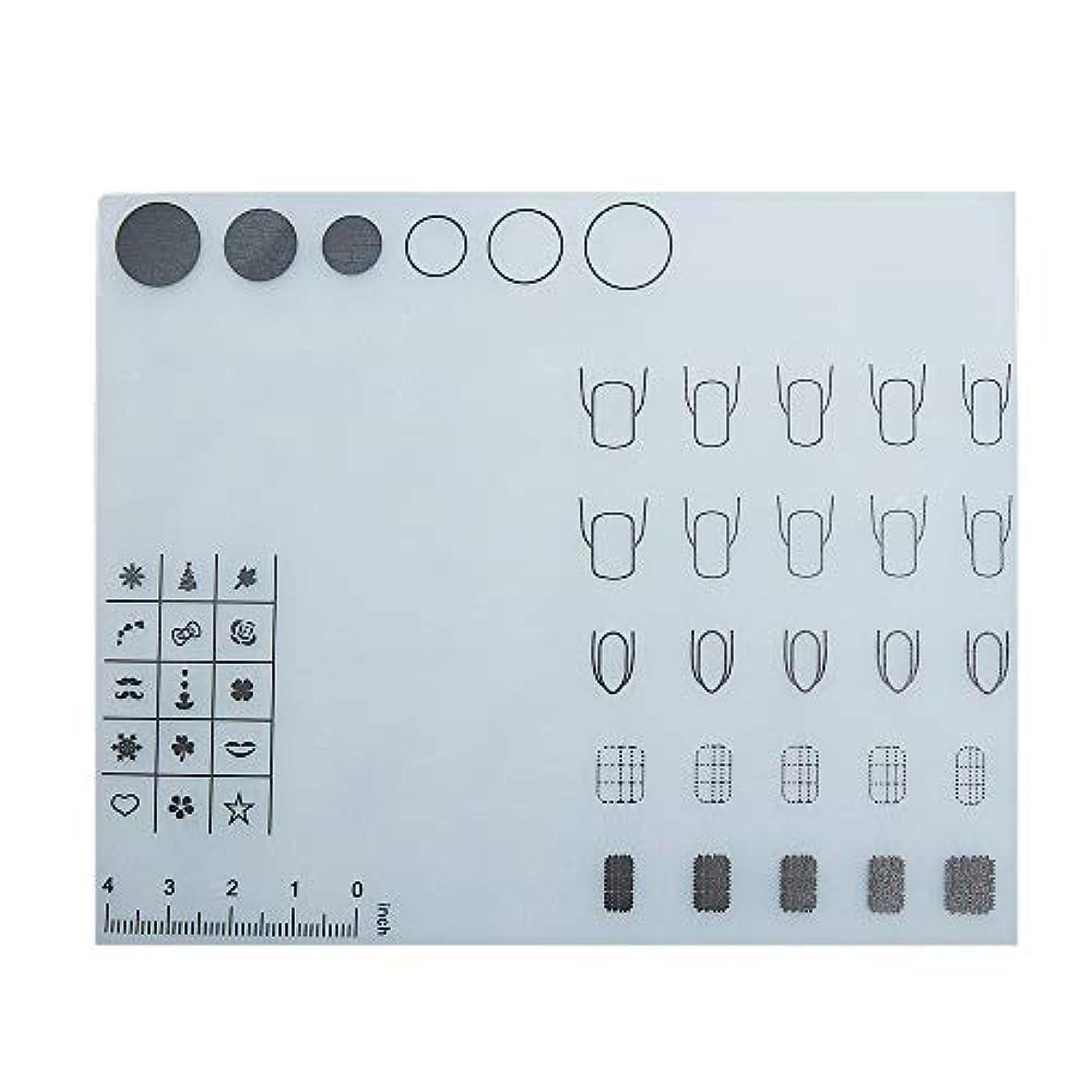 触覚実証するアクロバットDecdeal ネイルアートテーブルマット 折り畳み式パッド マニキュアクッション ミニ シリコーン ウォッシャブル ひじかけ マニキュアツール