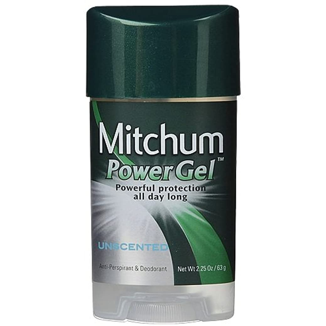 方程式イベント悲惨Mitchum Anti-Perspirant & Deodorant Clear Gel Unscented 65 ml (並行輸入品)