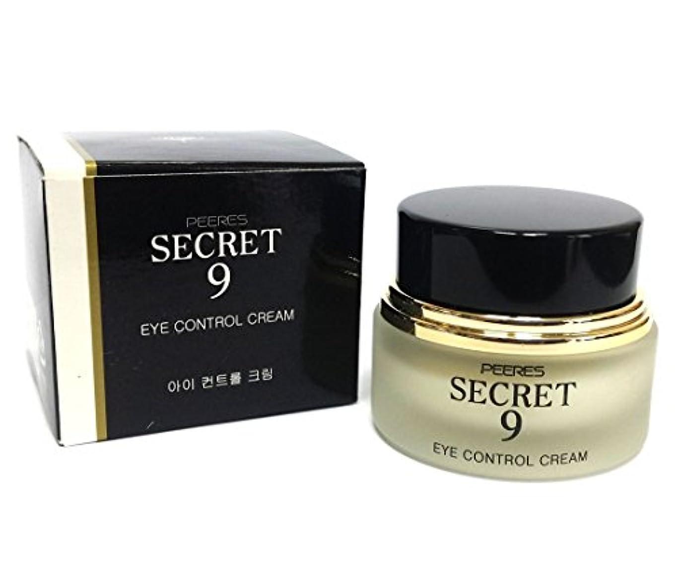 受け入れ十代の若者たち休眠[PEERES] シークレット9アイコントロールクリーム20g / Secret 9 Eye Control Cream 20g / しわ、しっとり、弾力、トリートメント/ anti-wrinkle, moisturizes, elasticity, Treatment / 韓国化粧品 / Korean Cosmetics [並行輸入品]