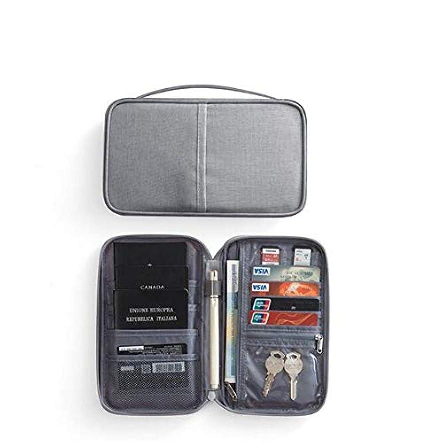 最愛のメモ対応するDishyKooker ポータブルパスポートパッケージ チケットホルダー 多機能防水ドキュメンテーションバッグ