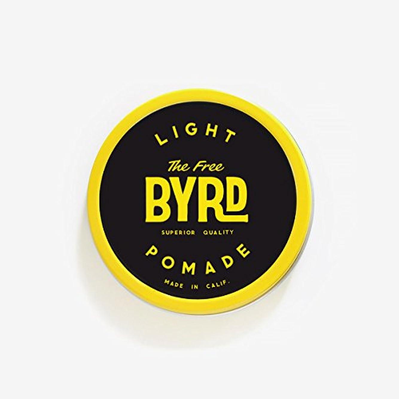 表現柱小康バード(BYRD) カリフォルニア発ポマード288 LIGHT POMADE SMALL(スモールサイズ)ライトスタイルヘアワックスヘアスタイリング剤耐水性香料メンズ/レディース 【LIGHT】SMALL