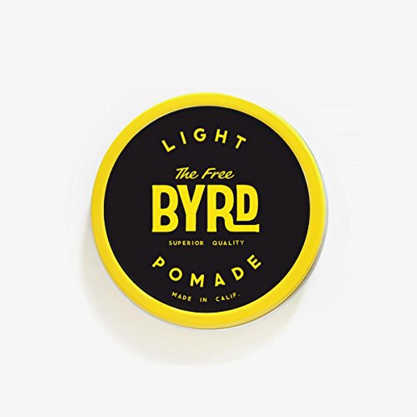 トーン船酔い川バード(BYRD) カリフォルニア発ポマード288 LIGHT POMADE SMALL(スモールサイズ)ライトスタイルヘアワックスヘアスタイリング剤耐水性香料メンズ/レディース 【LIGHT】SMALL