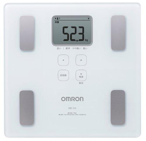 オムロン 体重・体組成計 カラダスキャン ホワイト HBF-2...
