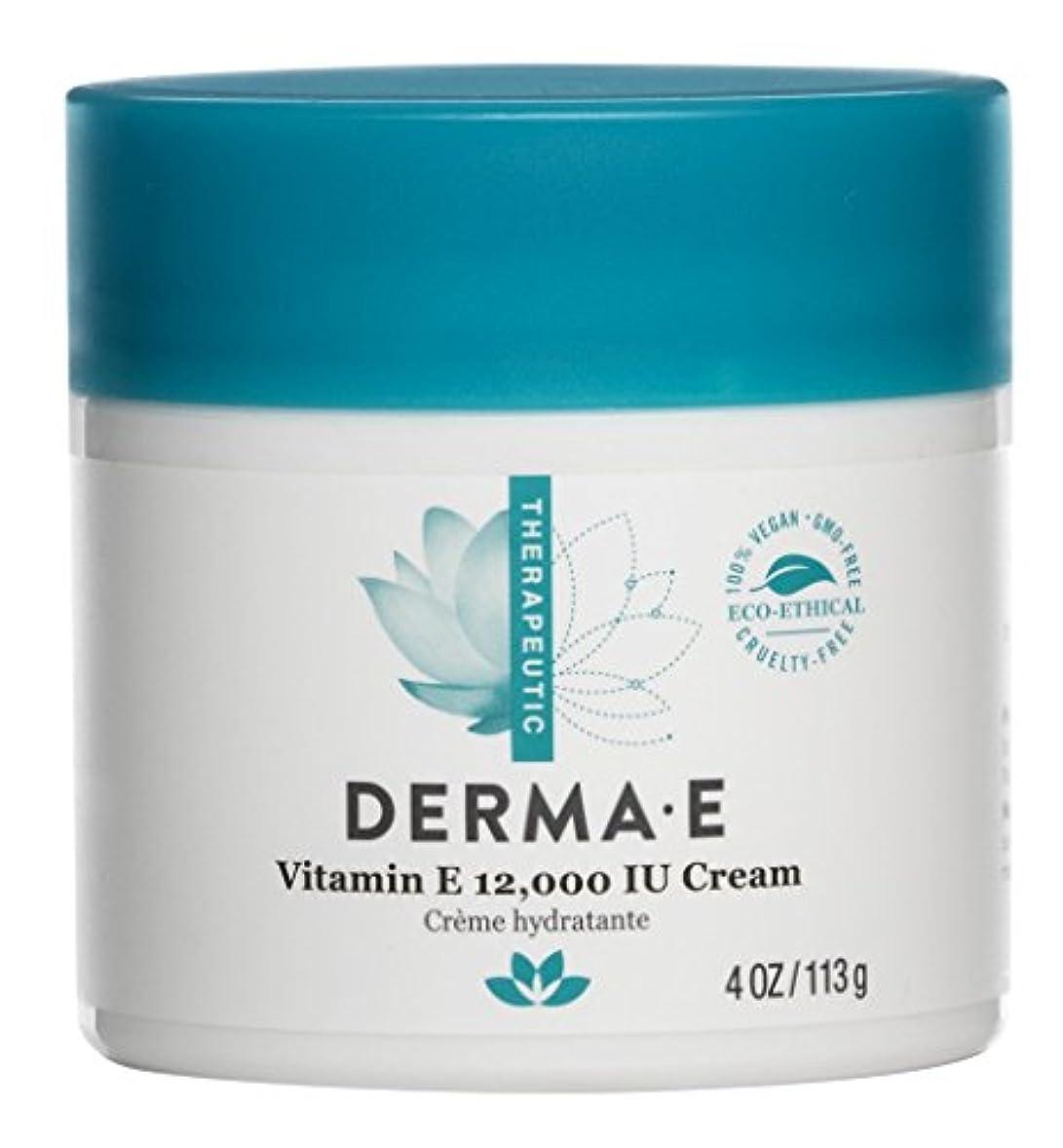 ジョージハンブリーシエスタ不名誉なDerma E Therapeutic Vitamin E 12,000 IU Cream 113g/4oz並行輸入品