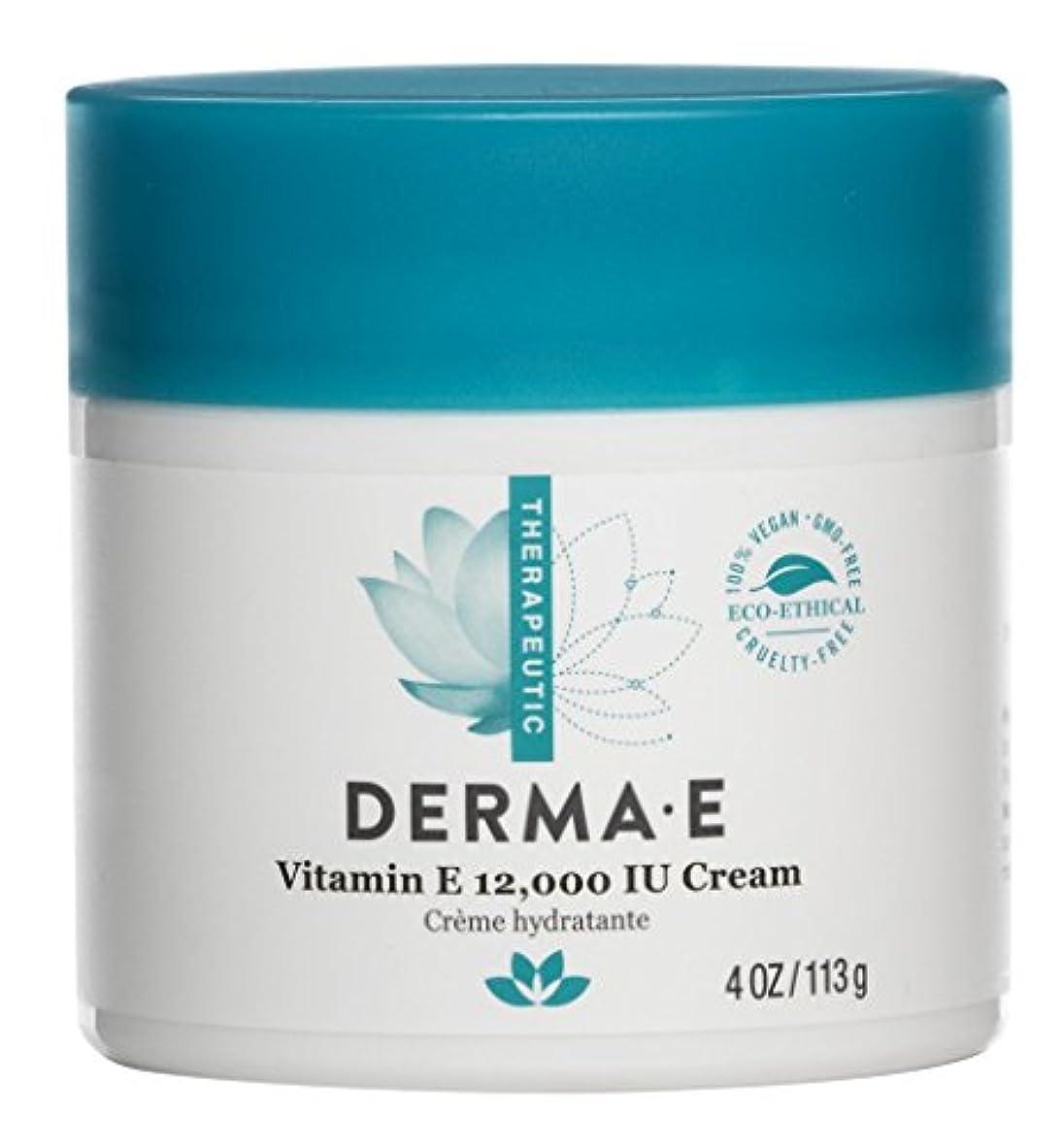 であること椅子インセンティブDerma E Therapeutic Vitamin E 12,000 IU Cream 113g/4oz並行輸入品