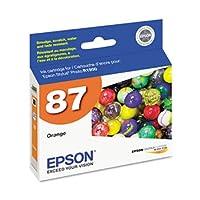 Epson UltraChromeグラマーハイグロスクリアコートエアゾール2オレンジ顔料インクカートリッジ( t087920) -