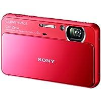 ソニー SONY デジタルカメラ Cybershot T110 1610万画素CCD 光学x4 レッド DSC-T110/R