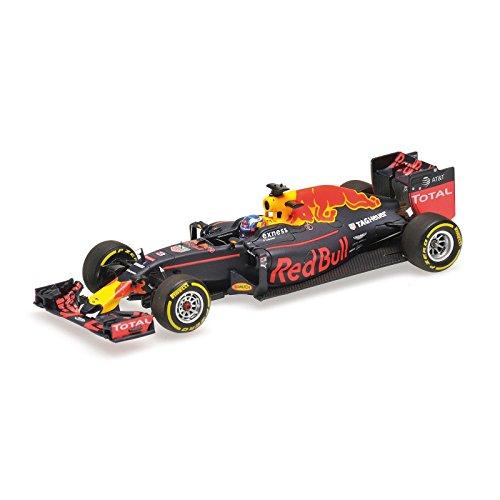 ☆ ミニチャンプス 1/43 レッドブル レーシング タグホイヤー RB12 2016 F1 #3 D.リカルド