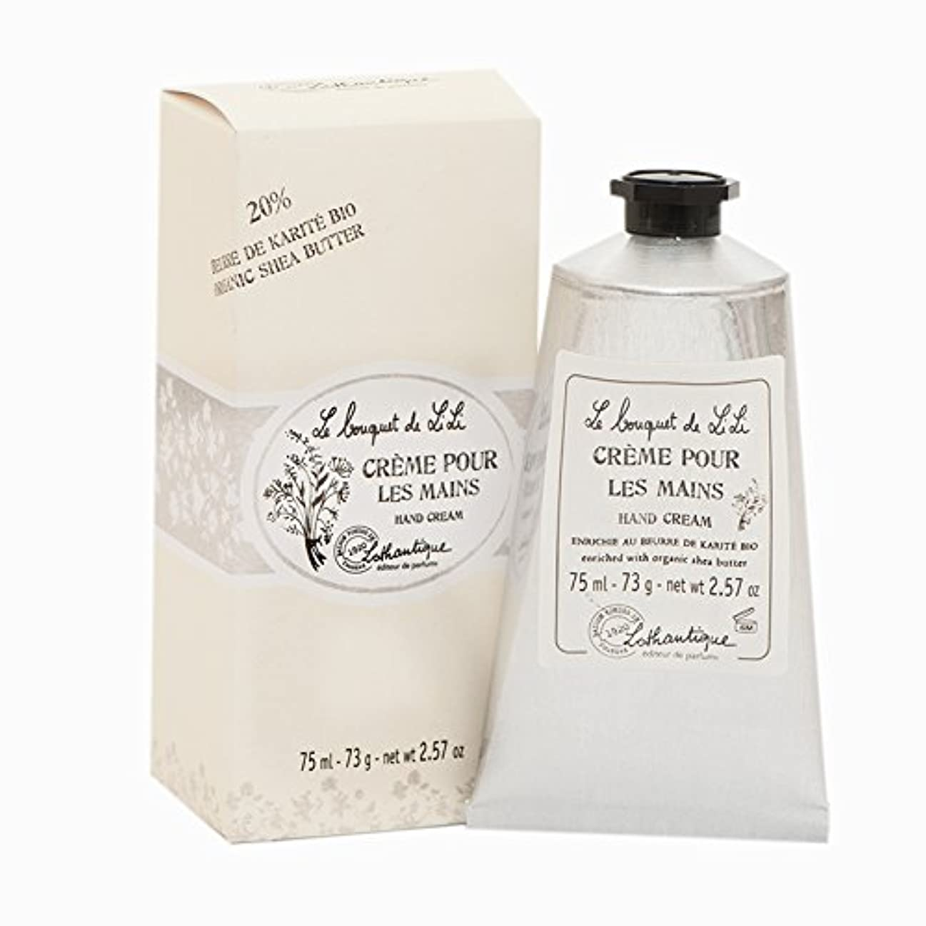 信頼エッセンス交じるLothantique(ロタンティック) Le bouquet de LiLi(ブーケドゥリリシリーズ) ハンドクリーム 75ml 3420070029096
