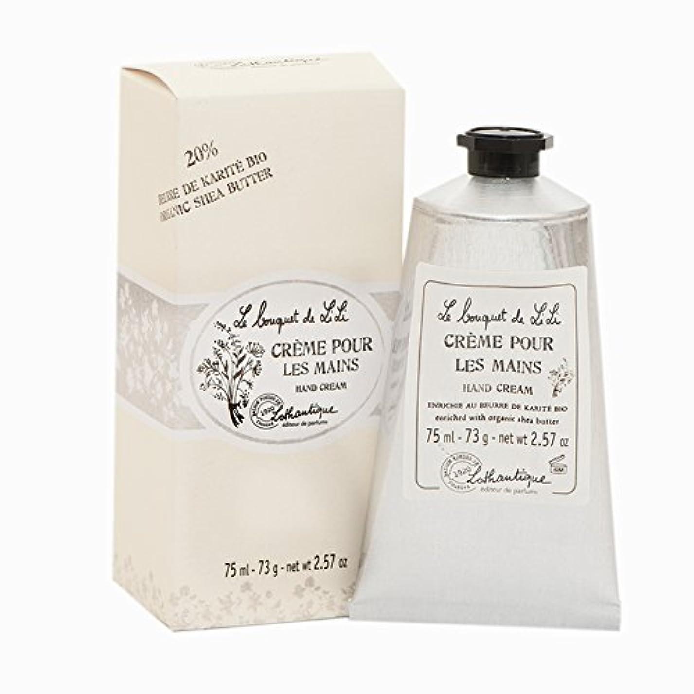 引数単なる仕様Lothantique(ロタンティック) Le bouquet de LiLi(ブーケドゥリリシリーズ) ハンドクリーム 75ml 3420070029096