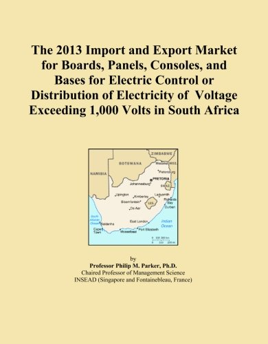 The 2013 Import and Export Market for Boards, Panels, Consoles, and Bases for Electric Control or Distribution of Electricity of Voltage Exceeding 1,000 Volts in South Africaの詳細を見る