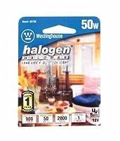 Westinghouse 0473800, 50W T4, GY6.35 Base Clear 2000 Hr 900 Lm 12V Halogen Light Bulb, 6-Pack [並行輸入品]