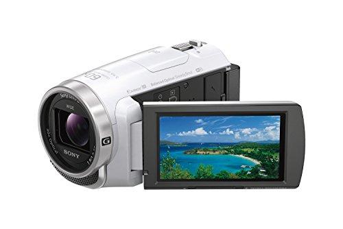 ソニーSONYビデオカメラHandycam光学30倍内蔵メモリー32GBホワイトHDR-PJ675WC