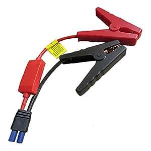 ミニ車のブースターケーブルカーのバッテリーは、緊急車のジャンプスターター車のジャンプスターターケーブル用バッテリークリップをクランプ