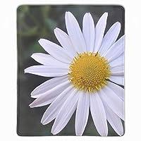 パターンアンチスリップラップトップPCマウスパッドマウスパッドの光学レーザーマウス快適なかわいいゲームマウスパッド デイジーの花