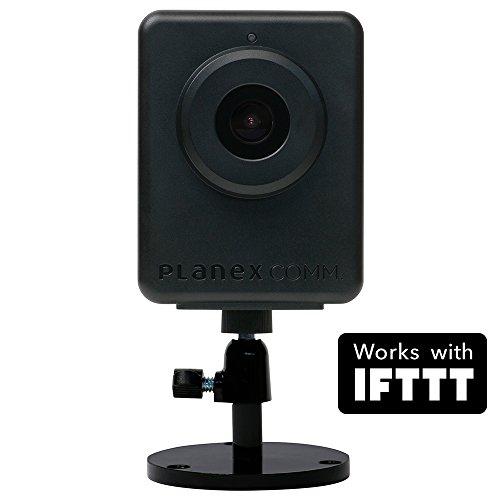 PLANEX ネットワークカメラ スマカメアウトドア Google Home/Amazon Alexa対応 防雨仕様・高感度CMOSセンサー搭載・マイク内蔵・スピーカー出力端子付き・モバイルルーター対応・合法カメラ CS-QR300