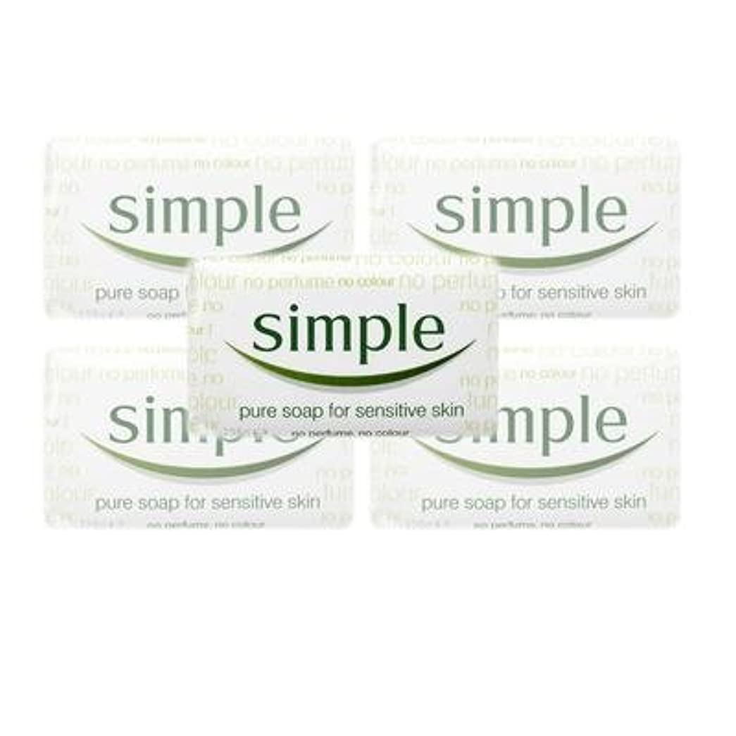 着る不健全幅Simple Pure Soap ( 6 x 125 gr bar) by Simple