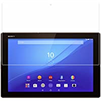 【BOW】Xperia Z4 Tablet SGP511CN SONY SO-05G (docomo) SOT31 (au) 専用 タブレット ガラス フィルム 強化ガラス 液晶 保護 フィルム film ガラス シート【 前面 】 厚さ0.33mm 2.5D 硬度9H 飛散防止 指紋防止 自動吸着 10.1インチ (Xperia Z4 Tablet)