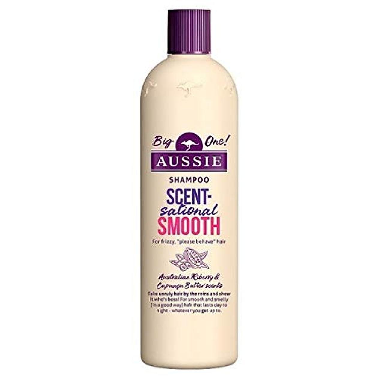 見通し酔ってイベント[Aussie ] オージーScentsationallyスムーズなシャンプー500ミリリットル - Aussie Scentsationally Smooth Shampoo 500ml [並行輸入品]